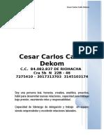 Cesar Cadiz Dekomhvac (1)
