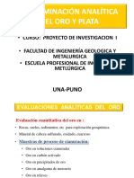 Determinacion Analitica del oro Carlos.ppt