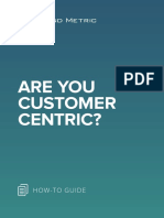 Are You Customer-Centric?