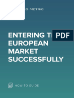 Entering the European Market Successfully