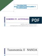 Valoración Rtas Pulmonares -Actividad-reposo Marzo 2014