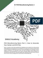 Manufacturing Basics 1 - Gerber & NC Drill PCB