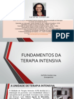 1. Aula-fundamentos Da Terapia Intensiva