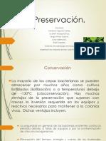Preservación,conservación y liofilización de bacterias.
