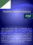 Teorías criminológicas