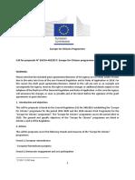 Tekst Poziva Evropa Za Građane