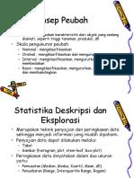 Statistika Deskriptif-stk511