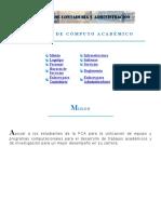 Centro de Cómputo Académico FCA UAQ