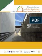 1 Encuentro Internacional de Ciudad, Arqutiectura, Construcción Sustentable