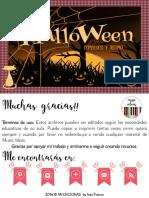 Halloween Compases y Ritmo