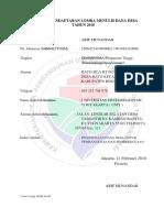 Formulir Pendaftaran Lomba Menulis Dana Desa