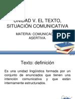 Comunicación Asertiva. Unidad 5