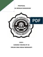Proposal Takjil Kartar