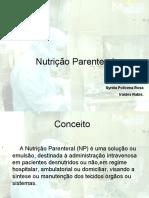 Nutricao Parenteral