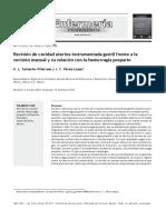 5 - Revisión de Cavidad Uterina Gentil y Su Relacion Hemorragia Posparto