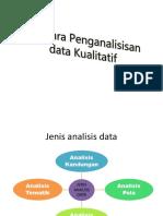 Tatacara Penganalisisan Data Kualitatif