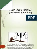 TESTIMONIO ( PSICOLOGÍA JURÍDICA)