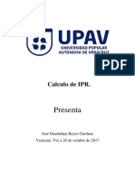 Calculo de IPR