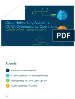 CCNA Cyber Ops 1.0 Overview