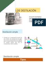 Tipos de Destilacion Terminado