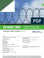 Estadísticas sobre el sistema penitenciario estatal en México