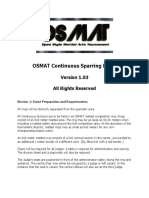 OSMAT Continuous Rulebook(1)