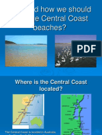 Why and How We Should Manage Central Coast