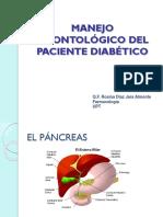 27 Manejo Odontológico Del Paciente Diabético