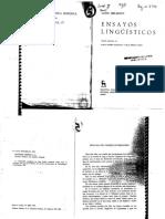 Hjelmslev Louis - Para Una Semántica Estructural