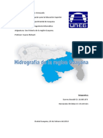 Hidrografia de La Region Guayana 1