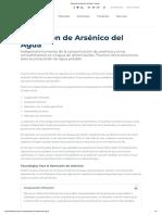 Remoción de Arsénico Del Agua _ Fluence