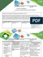 Guía de Actividades y Rúbrica de Evaluación - Fase 1