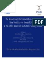 2010 Xstrata VOD Implementation- Bartsch