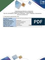 Guía de Actividades y Rúbrica de Evaluación - Fase 3 - Diseñar y Caracterizar Procesos Productivos