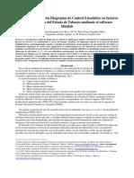 Implementación de los Diagramas de Control Estadístico. Francisco Castillo- 199V
