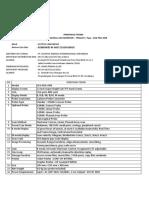 Spesifikasi Teknis PraOne +Trolley