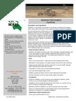 DustChek General Specifications