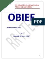 High Level Design Document