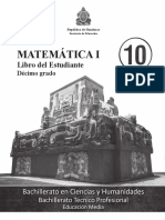 Mat I - Libro Del Estudiante - Completo