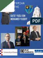 VOTW - Dato Yusli Bin Mohamed Yusoff