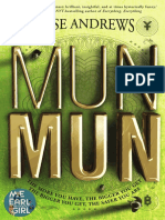 Munmun by Jesse Andrews Excerpt