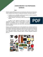 Usos de Los Hidrocarburos y Sus Propiedades Quimicas
