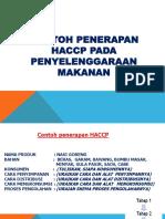 Contoh Penerapan HACCP Nasi Goreng