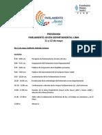 Programa Parlamento Departamental Lima (2)