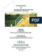 Guidelines for Slope Protection Using Biotechnical Measures
