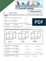 Soal Matematika Kelas 5 SD Bab 5 Kubus Dan Balok Dan Kunci Jawaban (Www.bimbelbrilian.com)