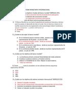 Banco Mundial y Sistema Monetario Internacional