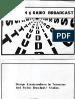 Ngunjiri_Design Considerations in Television and Radio Broadcast Studios.