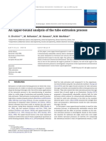 An upper-bound analysis of the tube extrusion process.pdf