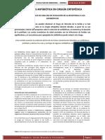 Profilaxis Antibiótica en Cirugía Ortopédica